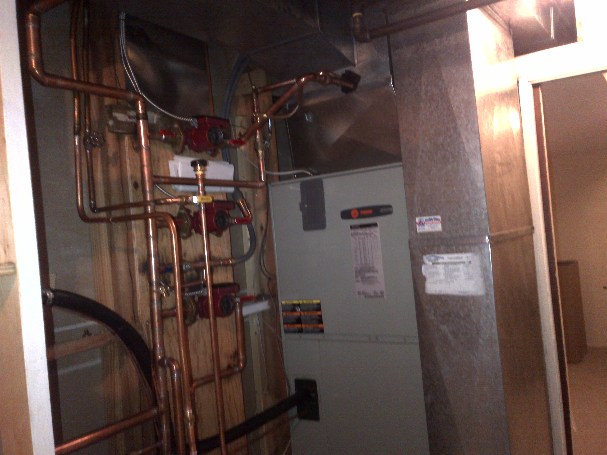 High Efficient Modulating Boiler Heat Pump Domestic Hot
