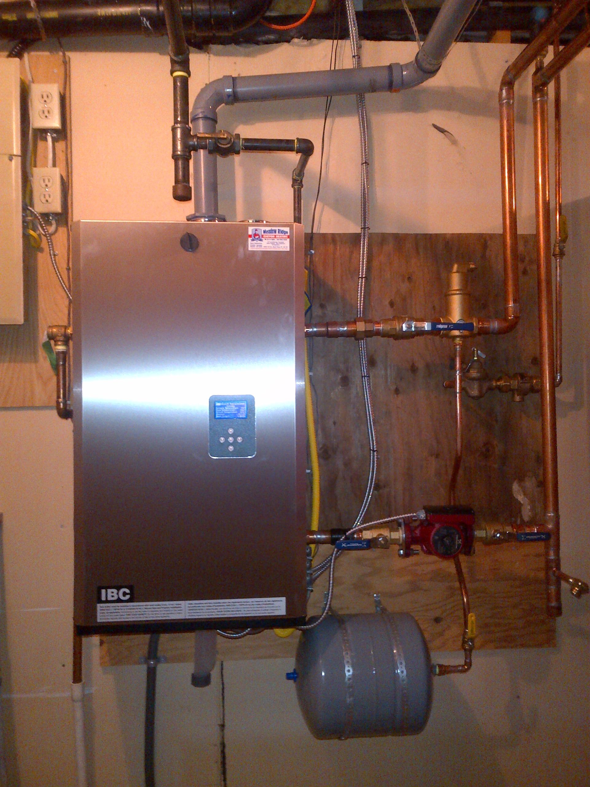 High Efficient Modulating Boiler Heat Pump Domestic Hot